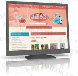 Babing - children's product store for Simpla CMS