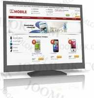 Mobile shop - template for cms Simpla